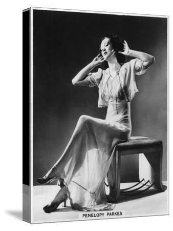 Penelopy Parkes, Actress, 1939--Stretched Canvas Print