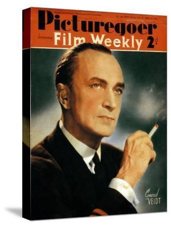 Conrad Veidt (1893-194), German Actor, 1940--Stretched Canvas Print