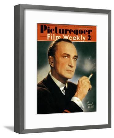 Conrad Veidt (1893-194), German Actor, 1940--Framed Giclee Print
