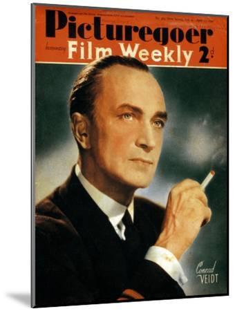 Conrad Veidt (1893-194), German Actor, 1940--Mounted Giclee Print