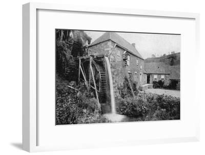Old Mill, Vallee Des Vaux, Jersey, 1924-1926--Framed Giclee Print