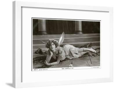 Gabrielle Ray, English Actress, Dancer and Singer, C1900s--Framed Giclee Print