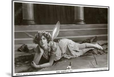 Gabrielle Ray, English Actress, Dancer and Singer, C1900s--Mounted Giclee Print