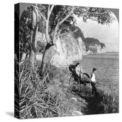 Looking East over 'Mississippi Bay, Near Yokohama, Japan, 1904-Underwood & Underwood-Stretched Canvas Print