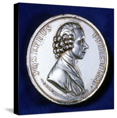 Obverse of Commemorative Medal for Joseph Priestley (1733-180), 1803--Stretched Canvas Print