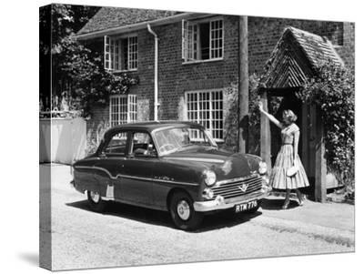 1956 Vauxhall Velox, (C1956)--Stretched Canvas Print