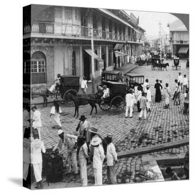 Rosario Street and Binondo Church as Seen from Pasig River, Manila,  Philippines, 1899 Photographic Print by Underwood & Underwood | Art com