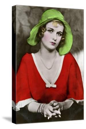 Joan Bennett, American Actress, C1932-1933--Stretched Canvas Print