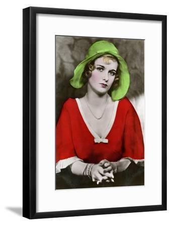 Joan Bennett, American Actress, C1932-1933--Framed Giclee Print