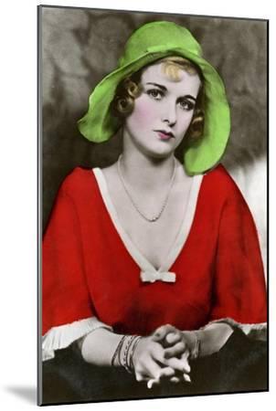 Joan Bennett, American Actress, C1932-1933--Mounted Giclee Print