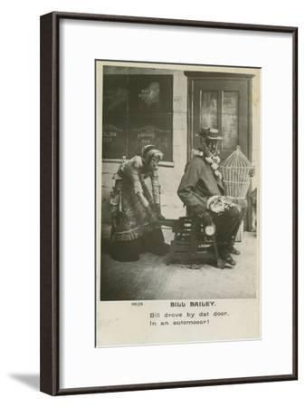Bill Bailey, Won't You Please Come Home? Was a Popular Song Published in 1902--Framed Giclee Print