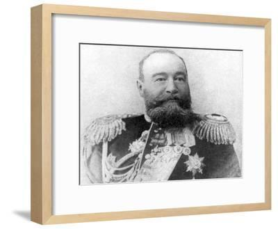 Vice-Admiral Alexeiev, Viceroy of Russian Dominions in the Far East, Russo-Japanese War, 1904-5--Framed Giclee Print