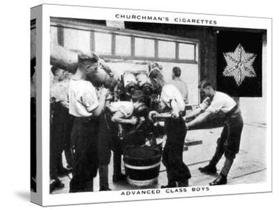 Advanced Class Boys, 1937- WA & AC Churchman-Stretched Canvas Print