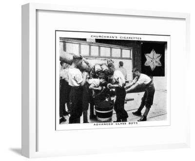Advanced Class Boys, 1937- WA & AC Churchman-Framed Giclee Print