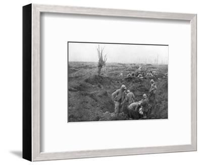 Allied Troops, 31 July 1917 at the Yser Canal, Belgium, 1926--Framed Giclee Print