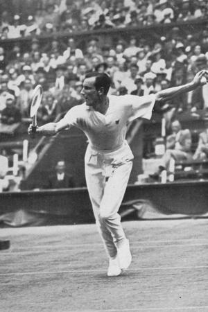 Fred Perry, 1934--Stretched Canvas Print