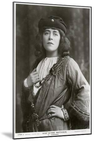 Edith Wynne Matthison, British Actress, C1907--Mounted Giclee Print