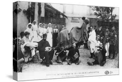 Improvised Camel, Auxiliary Hospital, Rue Lafayette, Paris, France, World War I, 1914-1918--Stretched Canvas Print