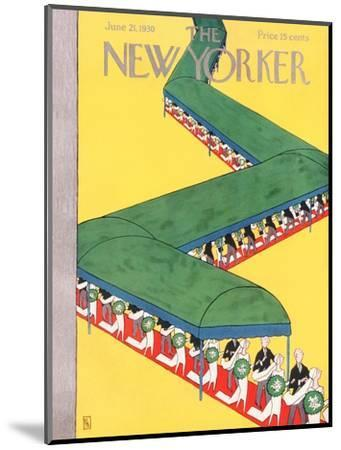 The New Yorker Cover - June 21, 1930-Gardner Rea-Mounted Premium Giclee Print