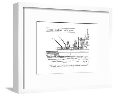 New Yorker Cartoon-Joe Dator-Framed Premium Giclee Print