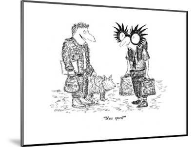 """New specs?"" - New Yorker Cartoon-Edward Koren-Mounted Premium Giclee Print"