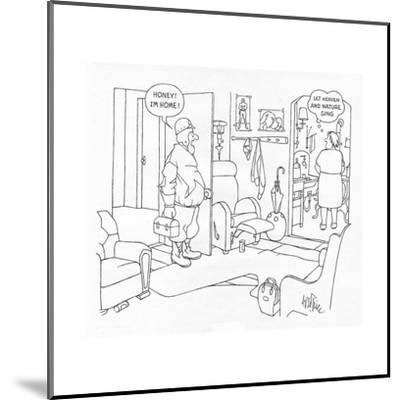 New Yorker Cartoon-George Price-Mounted Premium Giclee Print