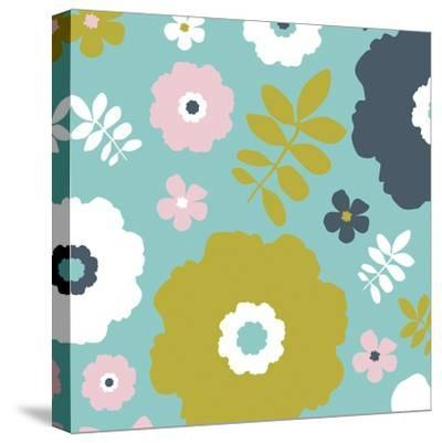 Sweet Floral II-Nicole Ketchum-Stretched Canvas Print