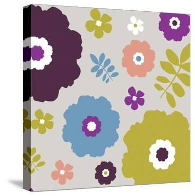 Sweet Floral III-Nicole Ketchum-Stretched Canvas Print