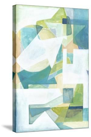 Overlay Abstract I-Megan Meagher-Stretched Canvas Print