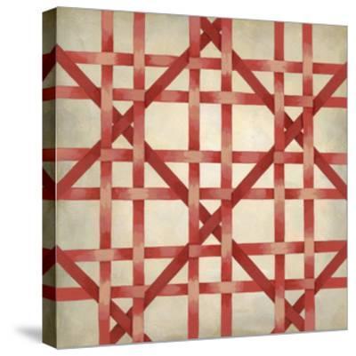 Woven Symmetry III-Chariklia Zarris-Stretched Canvas Print