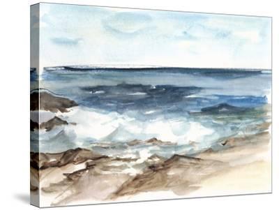 Coastal Watercolor V-Ethan Harper-Stretched Canvas Print