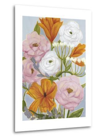 Morning Bouquet I-Grace Popp-Metal Print