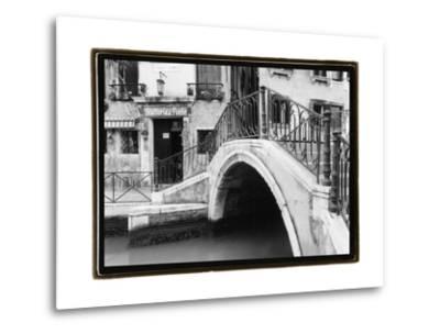 Hidden Passages, Venice II-Laura Denardo-Metal Print