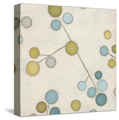 Molecular Blossoms IV-June Erica Vess-Stretched Canvas Print