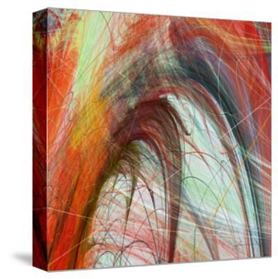String Tile II-James Burghardt-Stretched Canvas Print