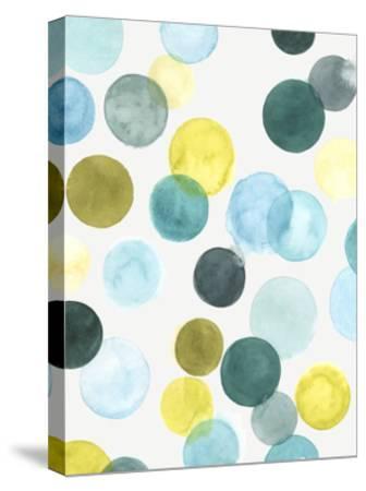 Aquatic Orbit I-June Erica Vess-Stretched Canvas Print