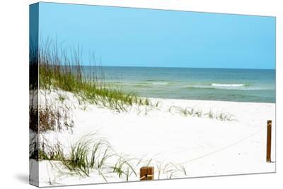 White Sandy Beach II-Gail Peck-Stretched Canvas Print