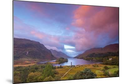 Glenfinnan Monument to the 1745 Landing of Bonnie Prince Charlie at Start of the Jacobite Rising-Alan Copson-Mounted Photographic Print