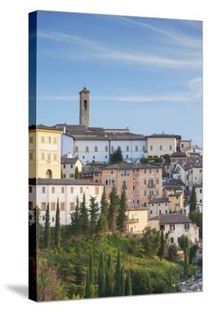 View of Spoleto, Umbria, Italy-Ian Trower-Stretched Canvas Print