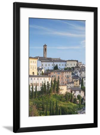 View of Spoleto, Umbria, Italy-Ian Trower-Framed Photographic Print