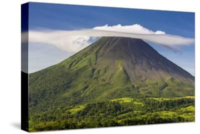 Arenal Volcano-Nick Ledger-Stretched Canvas Print