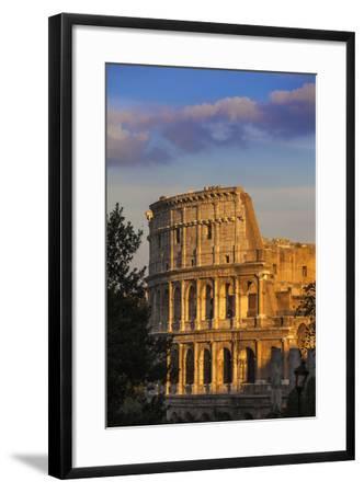 Italy, Lazio, Rome, the Colosseum-Jane Sweeney-Framed Photographic Print