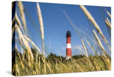 Lighthouse, Hörnum, Sylt Island, Northern Frisia, Schleswig-Holstein, Germany-Sabine Lubenow-Stretched Canvas Print
