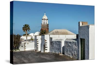 Church Nuestra Senora De Guadalupe, Teguise, Lanzarote, Canary Islands, Spain-Sabine Lubenow-Stretched Canvas Print