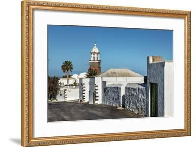 Church Nuestra Senora De Guadalupe, Teguise, Lanzarote, Canary Islands, Spain-Sabine Lubenow-Framed Photographic Print
