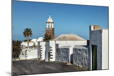 Church Nuestra Senora De Guadalupe, Teguise, Lanzarote, Canary Islands, Spain-Sabine Lubenow-Mounted Photographic Print