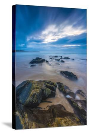 UK, Scotland, Argyll and Bute, Islay, Saligo Bay-Alan Copson-Stretched Canvas Print