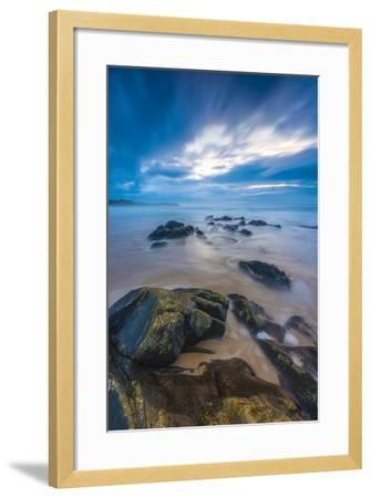 UK, Scotland, Argyll and Bute, Islay, Saligo Bay-Alan Copson-Framed Photographic Print