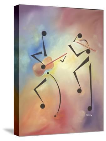 Flutina-Ikahl Beckford-Stretched Canvas Print