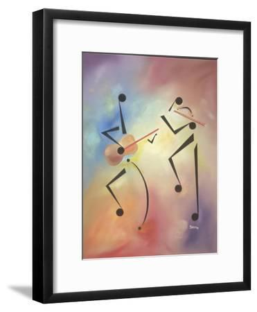 Flutina-Ikahl Beckford-Framed Giclee Print